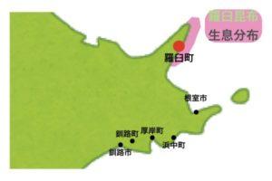羅臼昆布の産地・生息分布地図